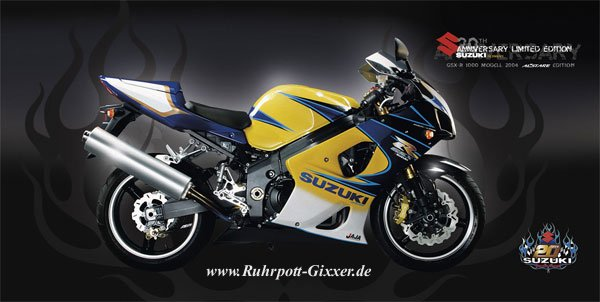 g steforum gsx r 1000 20th anniversary oder gsx r 1000. Black Bedroom Furniture Sets. Home Design Ideas
